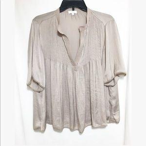 Wilfred • silk v neck blouse
